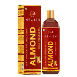 Almond oil for hair & skin