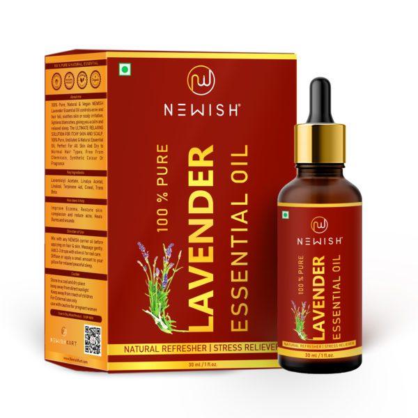 Lavender oil for hair & skin