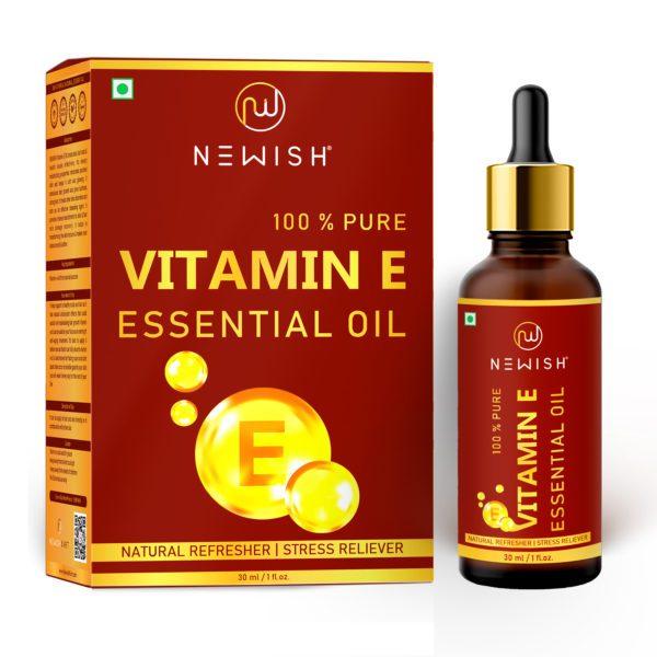 vitamin e oil for hair & skin