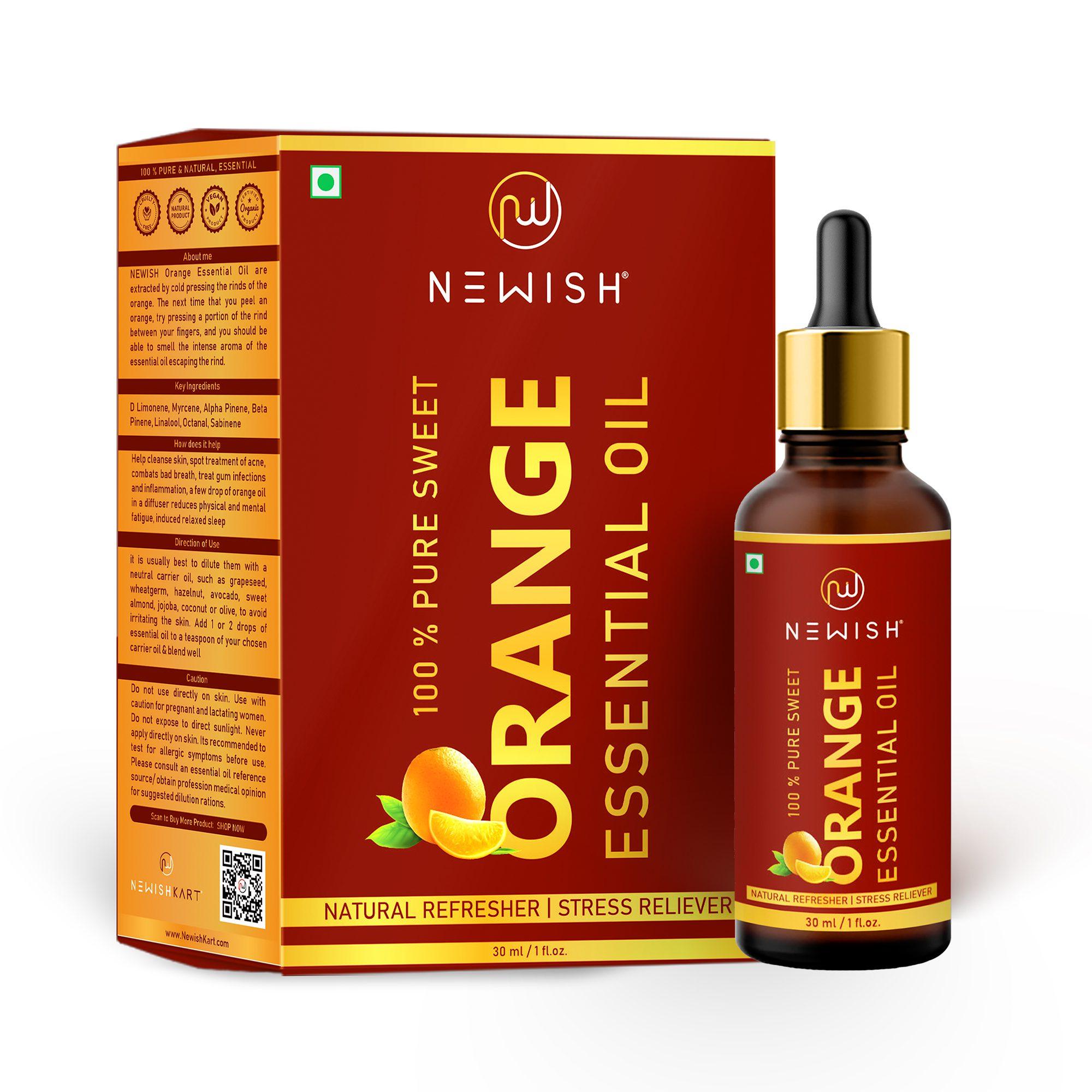 orange oil for hair & skin