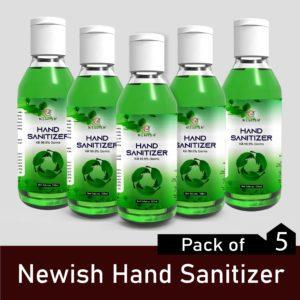 Alcohol based Hand Sanitizer with lemon