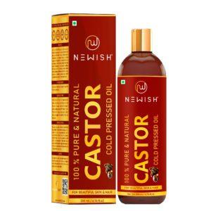 castor oil for hair & skin