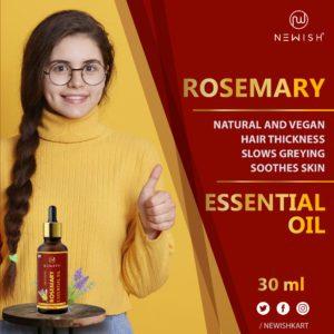Newish Rosemary oil for hair & skin