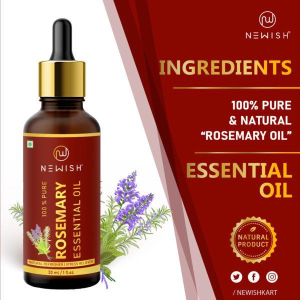 Ingredients of Rosemary oil