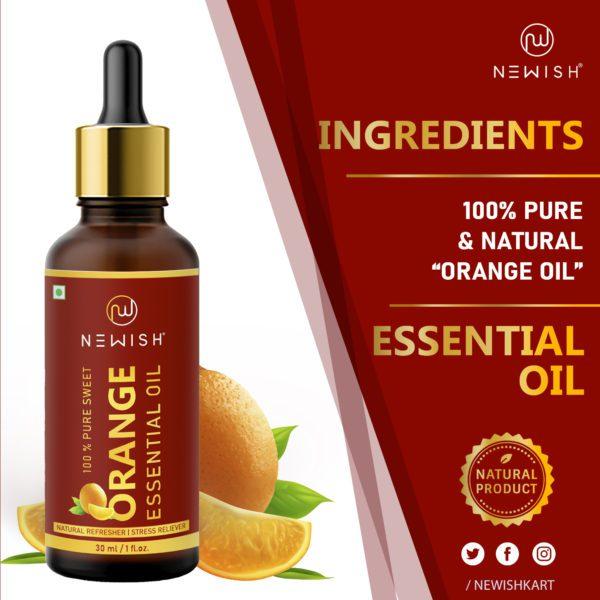 Ingredients in orange oil