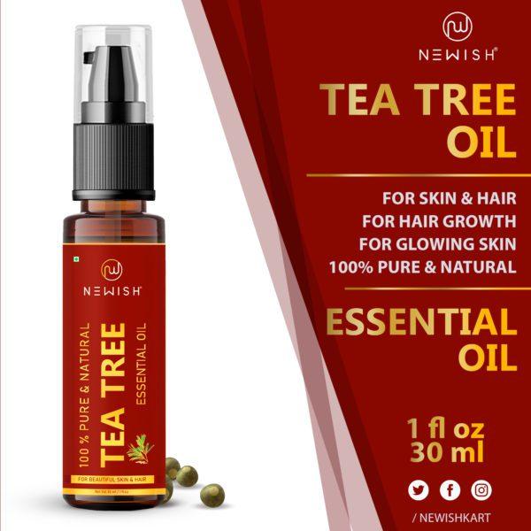Newish's tea tree oil for acne