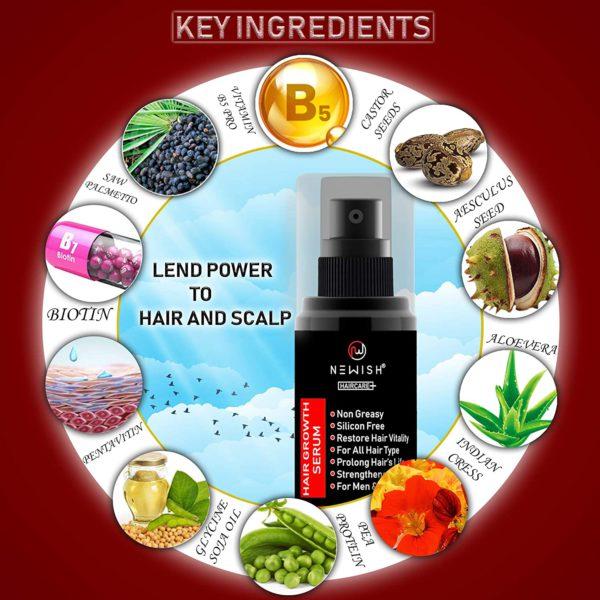 Ingredients in hair serum