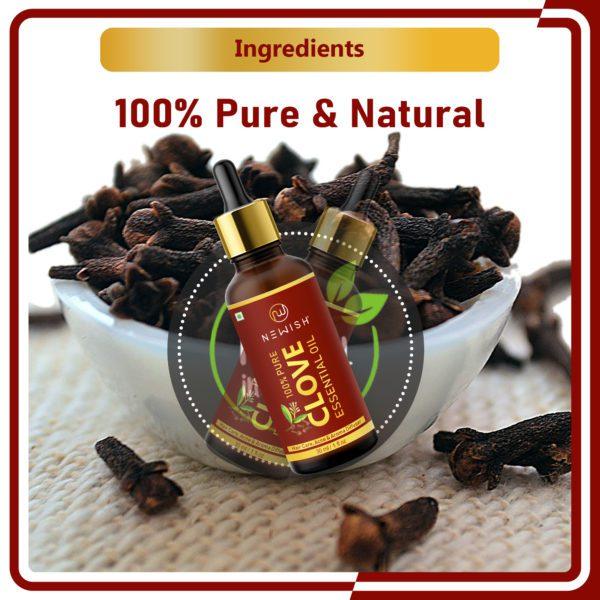 Natural clove oil